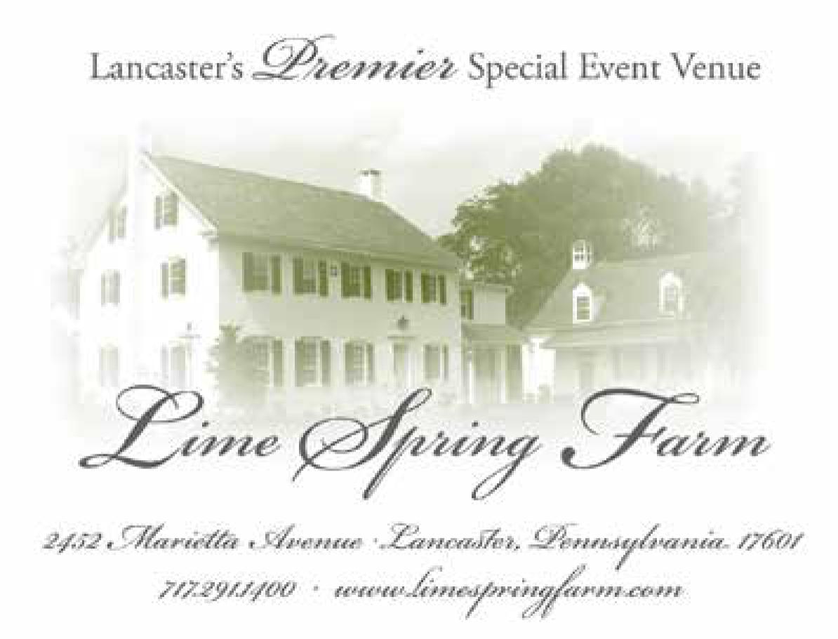 Lime Spring Farm, Lancaster, PA