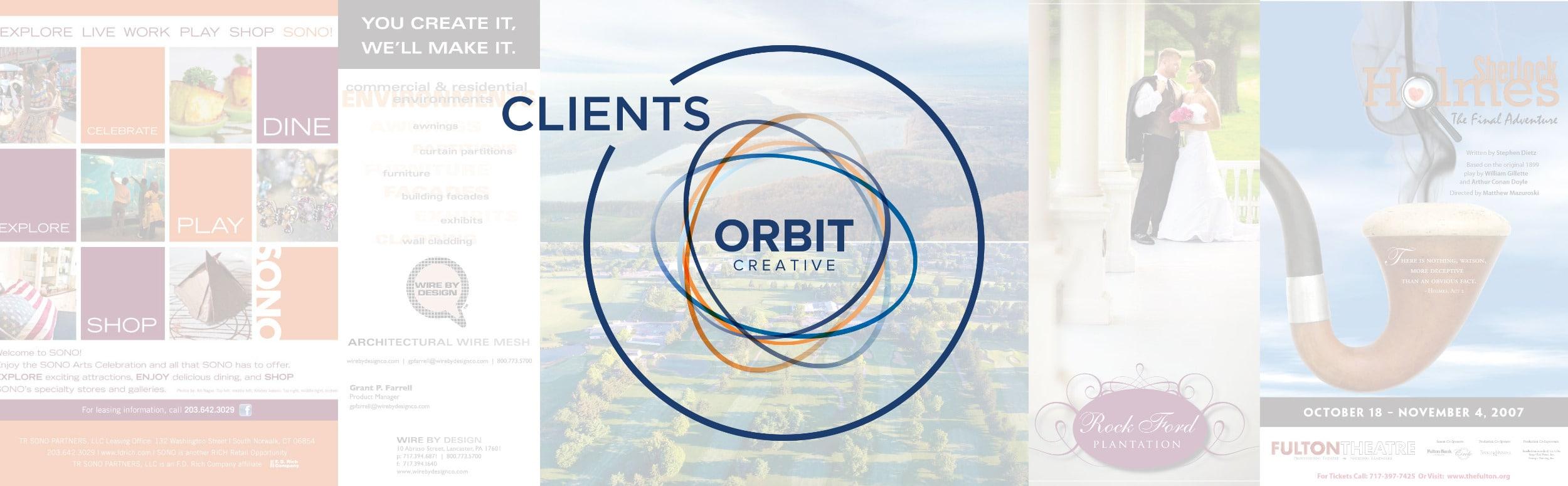 Orbit Creative Clients